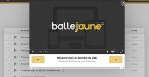 Tennis Club Enghien - Aide vidéo pour vos réservations