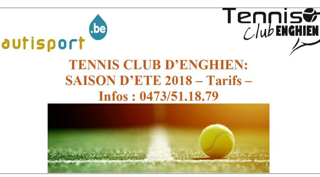 TCE - Tarifs été 2018