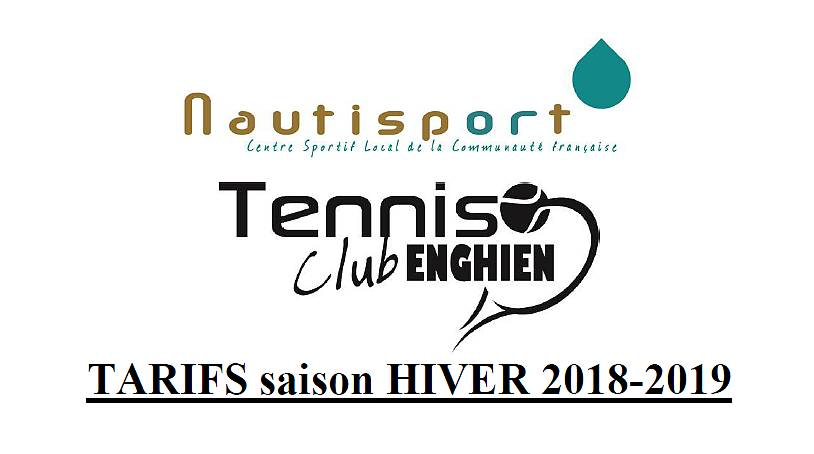 TCE - Tarifs Hiver 2018-2019