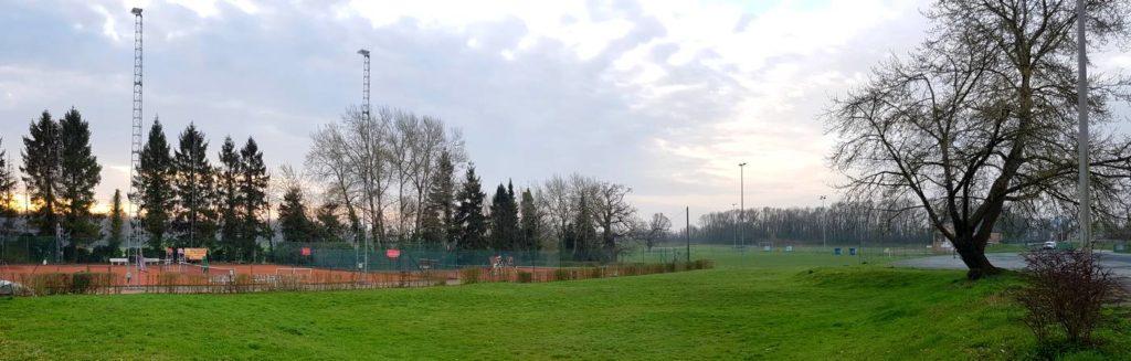 TCE - Tennis Club Enghien - Terrains extérieurs