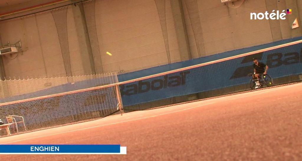 TCE - notélé - Tennis fauteuil roulant - Enghien - 202109