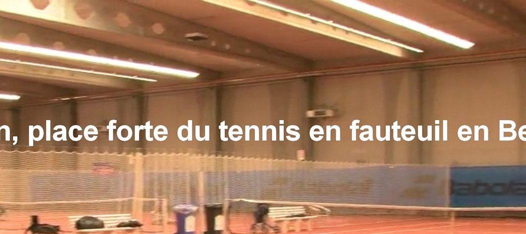 Tennis fauteuil roulant - Enghien - 202109
